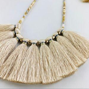 Bohemian tassel necklace